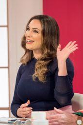 """Kelly Brook - """"Loose Women"""" TV Show in London 04/04/2018"""