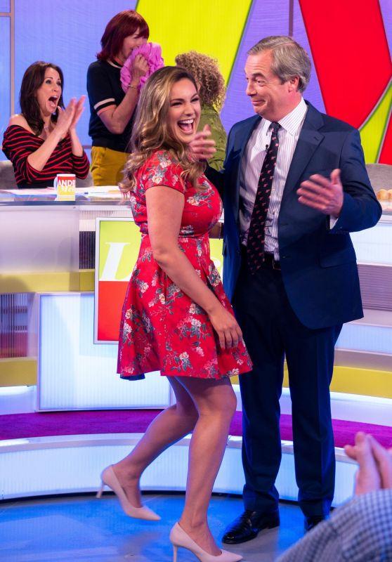 Kelly Brook - Loose Women TV Show in London 04/24/2018