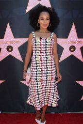 Kerry Washington – Eva Longoria Hollywood Walk of Fame in LA