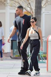 Kourtney Kardashian at Disneyland in Anaheim 04/21/2018
