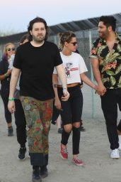 Kristen Stewart at Coachella 2018 in Palm Springs