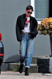 Kristen Stewart - Leaving a Spa in Los Angeles 04/06/2018