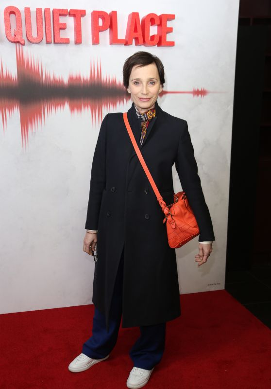 "Kristin Scott Thomas – ""A Quiet Place"" Screening in London"