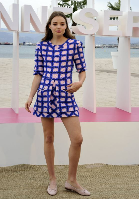 """Kristine Froseth - """"The Truth About the Harry Quebert Affair"""" Photocall in Cannes 04/07/2018"""