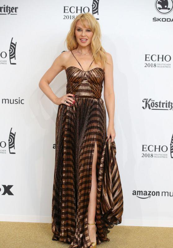 Kylie Minogue - 2018 Echo Awards in Berlin