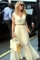 Kylie Minogue All Dressed in White - BBC Studios in London 04/19/2018