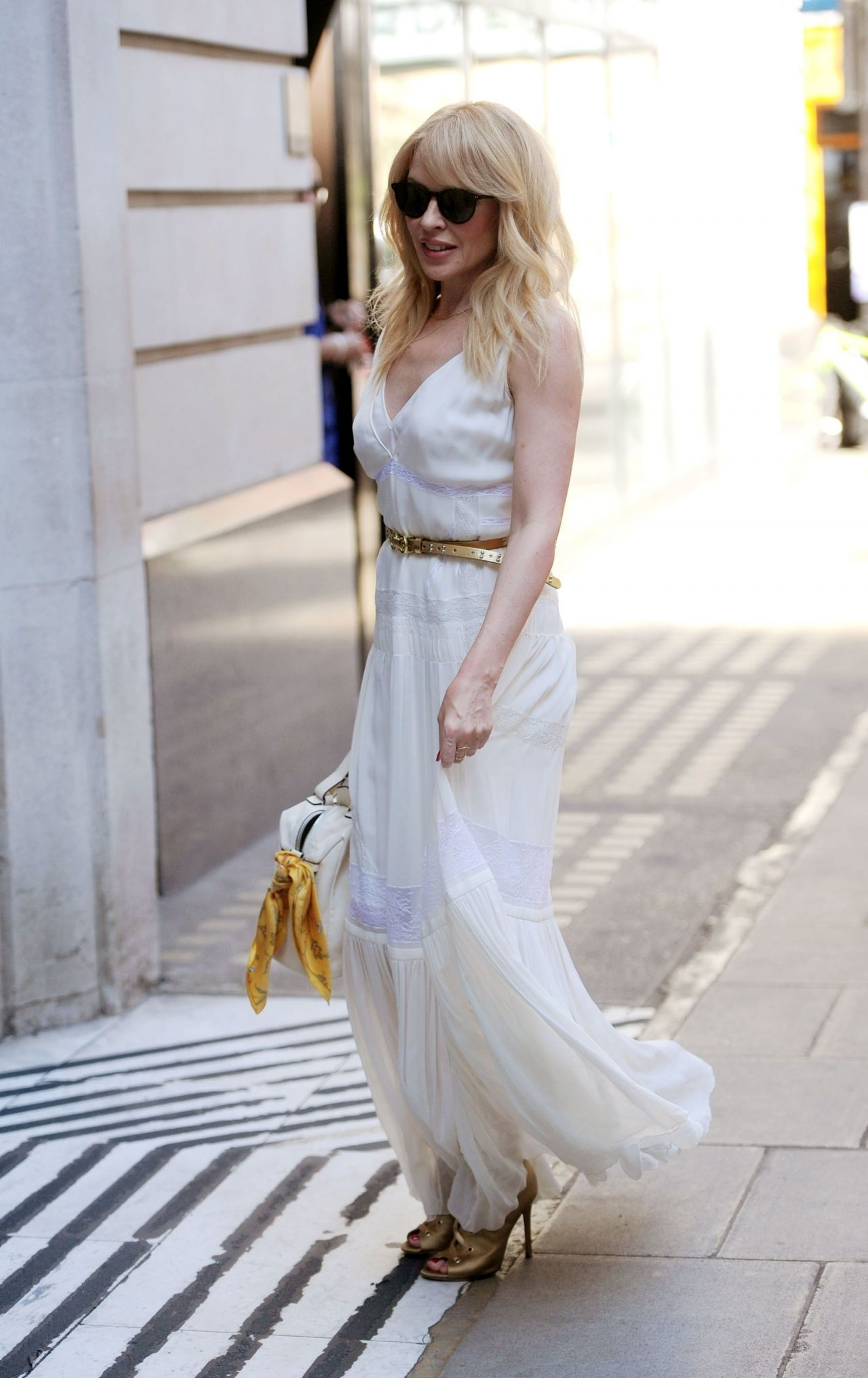 Kylie Minogue All Dressed In White