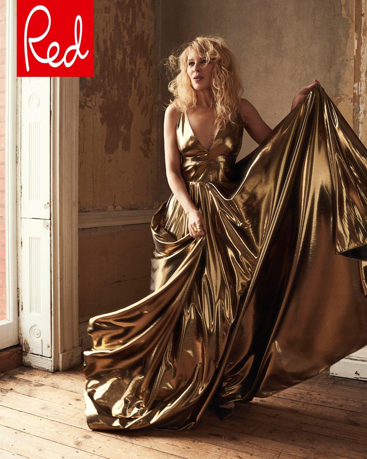 Kylie Minogue Red Magazine May 2018