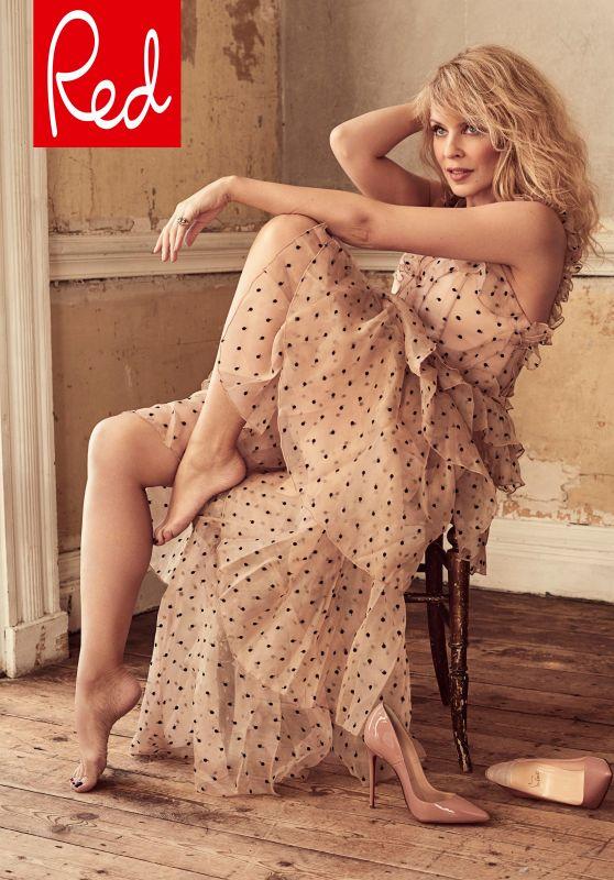 Kylie Minogue - Red Magazine May 2018