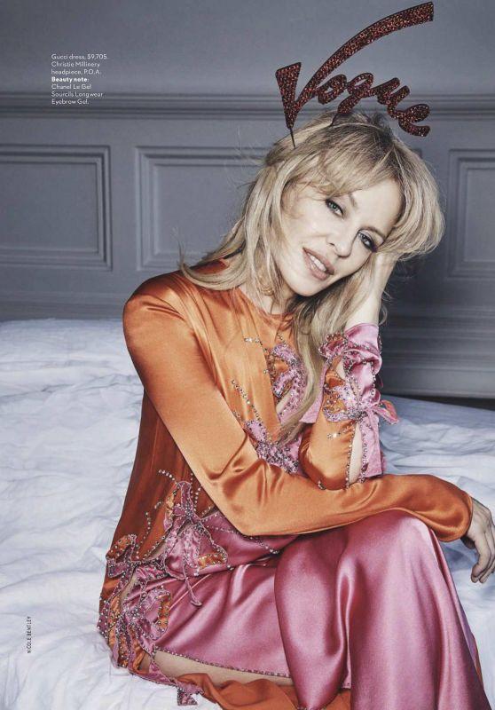 Kylie Minogue - Vogue Magazine Australia May 2018 Issue