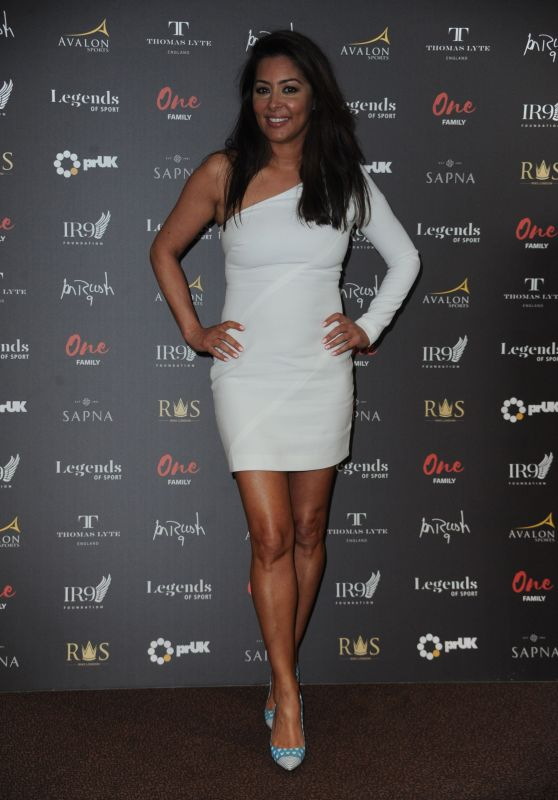 Laila Rouass - Legends Of Sport Awards in London