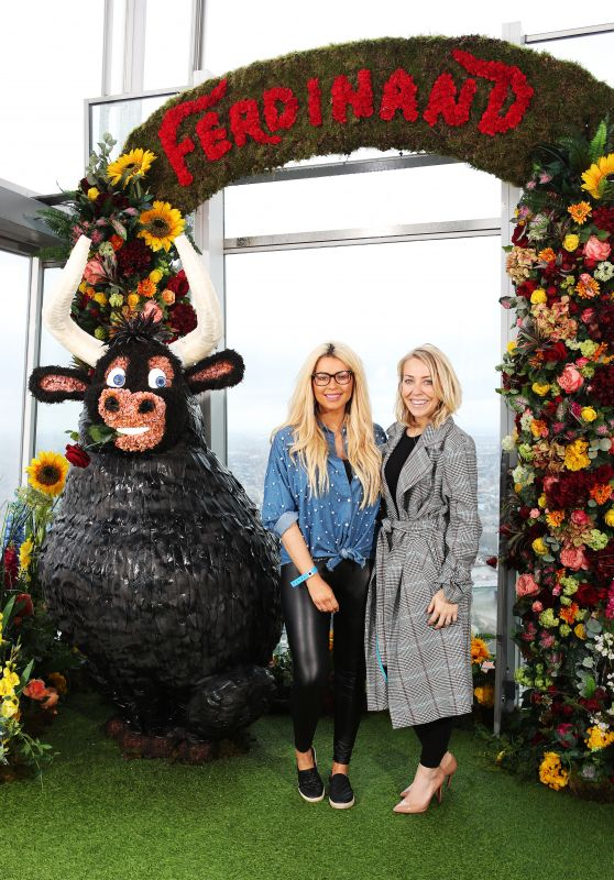 Laura Hamilton and Nicola McLean - Ferdinand DVD Launch Event in London