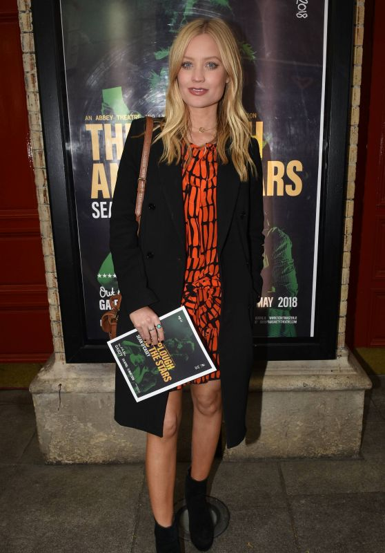 "Laura Whitmore - ""The Plough And The Stars"" Opening Night at The Gaiety Theatre in Dublin 04/25/2018"
