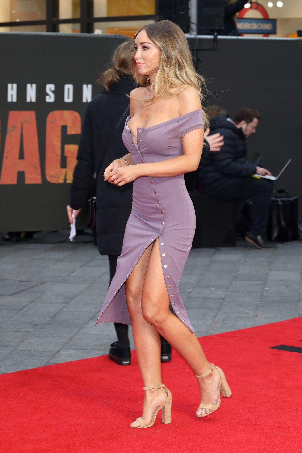 Lauren Pope Quot Rampage Quot Premiere In London
