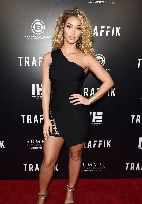"Lauren Wood – ""Traffik"" Premiere in LA"