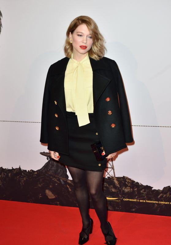 """Lea Seydoux – """"Isle of Dogs"""" Premiere in Paris"""