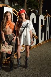 Leigh-Anne Pinnock and Jade Thirlwall - Moschino Party at Coachella 2018