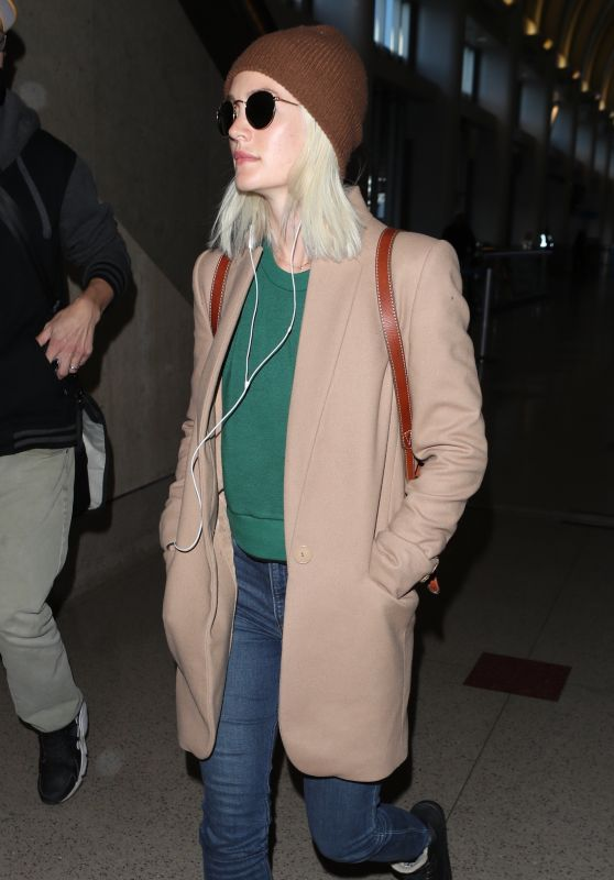 Leighton Meester at LAX in Los Angeles 04/03/2018