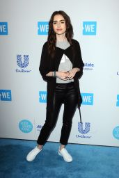 Lily Collins – WE Day California 2018
