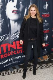"""Linda Papadopoulos – """"Witness for the Prosecution by Agatha Christie"""" Play at London County Hall"""