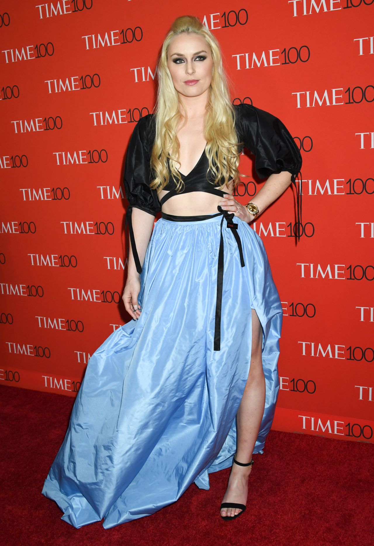 Lindsey Vonn 2018 Time 100 Gala In Nyc