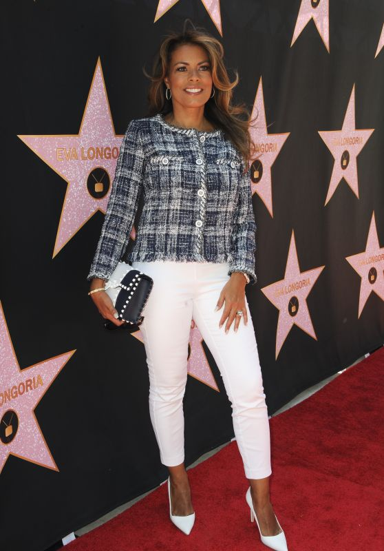Lisa Vidal – Eva Longoria Hollywood Walk of Fame in LA