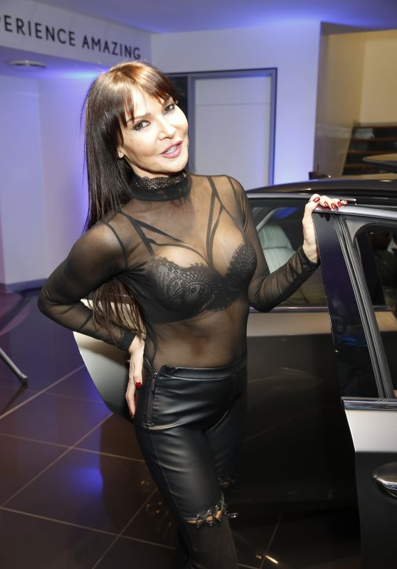 Lizzie Cundy - Lexus LS 500 Launch in London