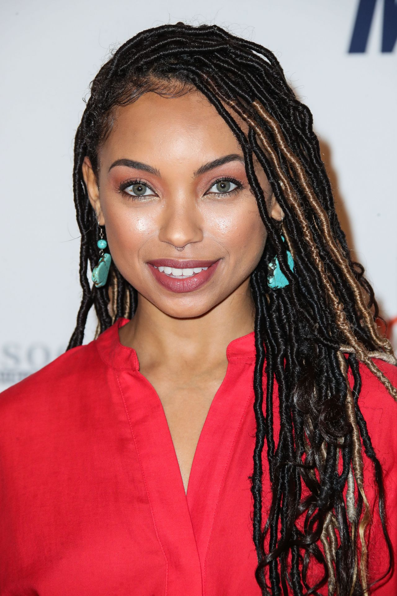 Logan Browning 2018 Race To Erase Ms Gala In Beverly Hills