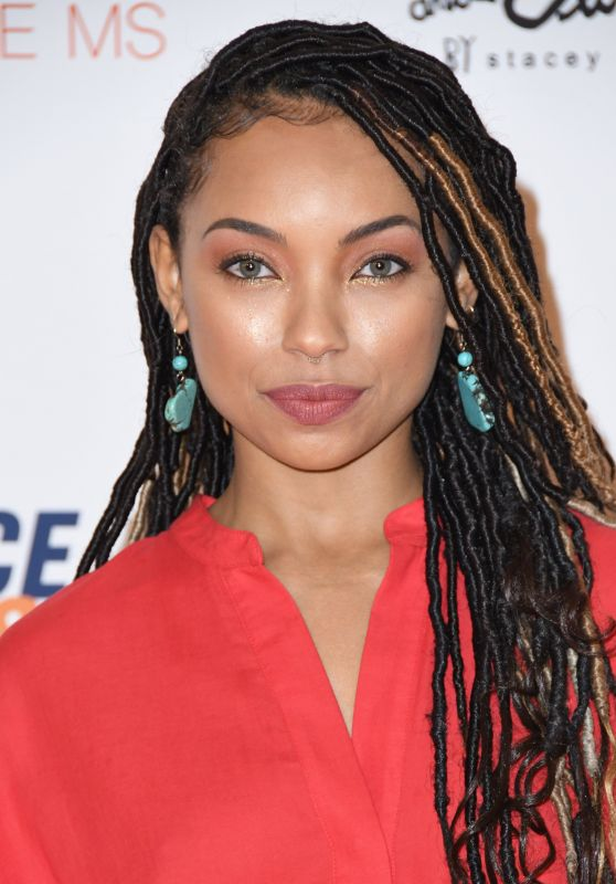 Logan Browning – 2018 Race To Erase MS Gala in Beverly Hills