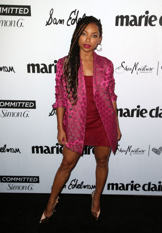 """Logan Browning – Marie Claire """"Fresh Faces"""" Party in LA 04/27/2018"""