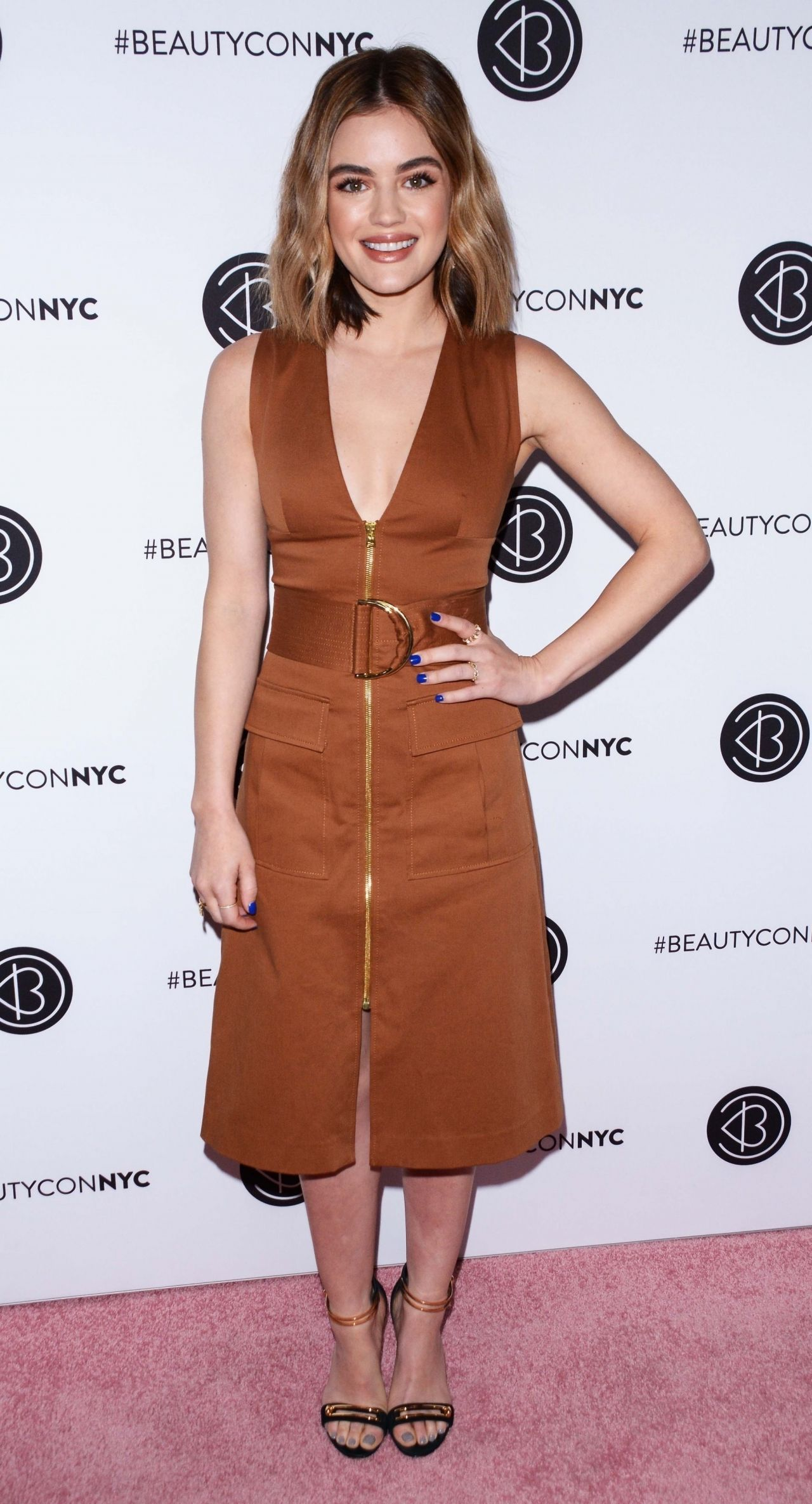 Lucy Hale Beautycon Festival In Nyc 04 21 2018