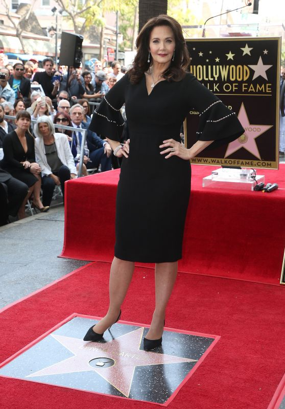 Lynda Carter - Honored With Star On The Hollywood Walk Of Fame in Hollywood