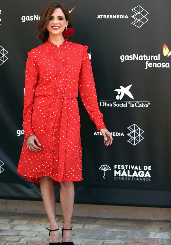 Macarena Garcia - RTVA Photocall at Malaga Spanish Film Festival