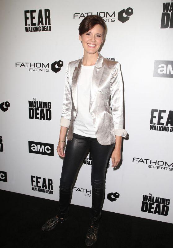 """Maggie Grace - FYC """"The Walking Dead"""" and """"Fear the Walking Dead"""" in Los Angeles 04/15/2018"""