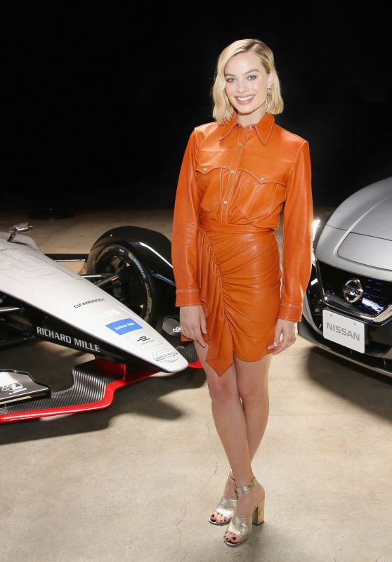Margot Robbie - Nissan Formula E Launch Tour in Los Angeles 04/16/2018
