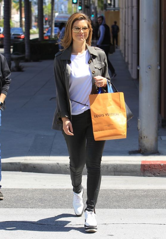 Maria Menounos - Shopping at Louis Vuitton in Beverly Hills 04/18/2018