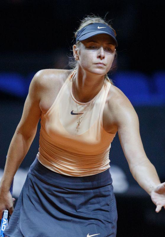 Maria Sharapova – Porsche Tennis Grand Prix 2018 in Stuttgart