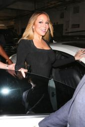 Mariah Carey - Leaving Mastros Restaurant in Beverly Hills 04/24/2018
