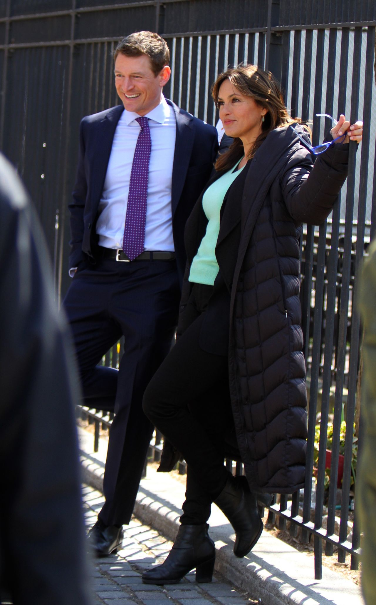 Mariska Hargitay Quot Law And Order Svu Quot Set In Uptown