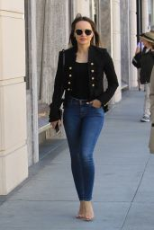 Martha Higareda in Tight Jeans - Beverly Hills 04/18/2018
