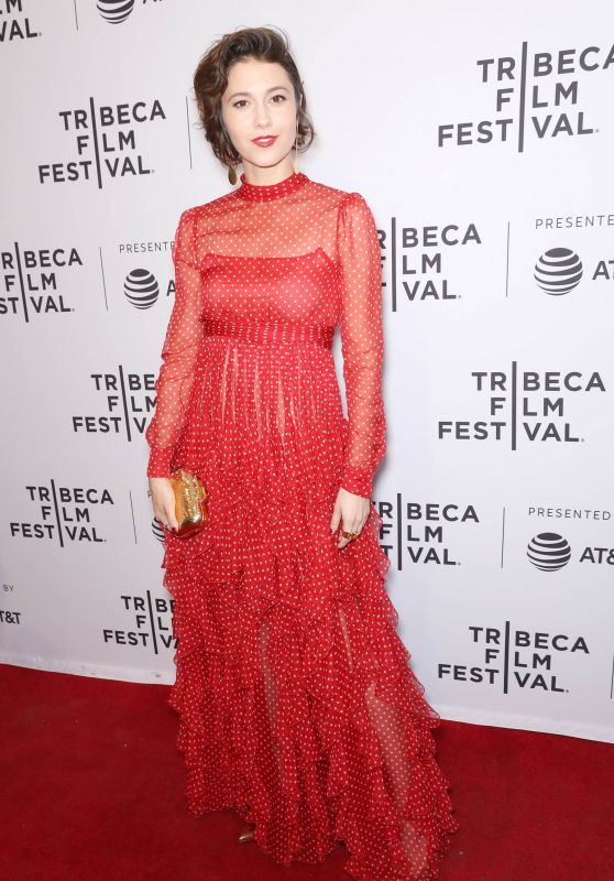 "Mary Elizabeth Winstead - ""All About Nina"" Screening at 2018 Tribeca Film Festival"
