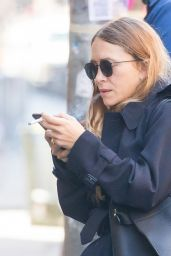 Mary-Kate Olsen - Arrives to Her Office in New York 04/26/2018