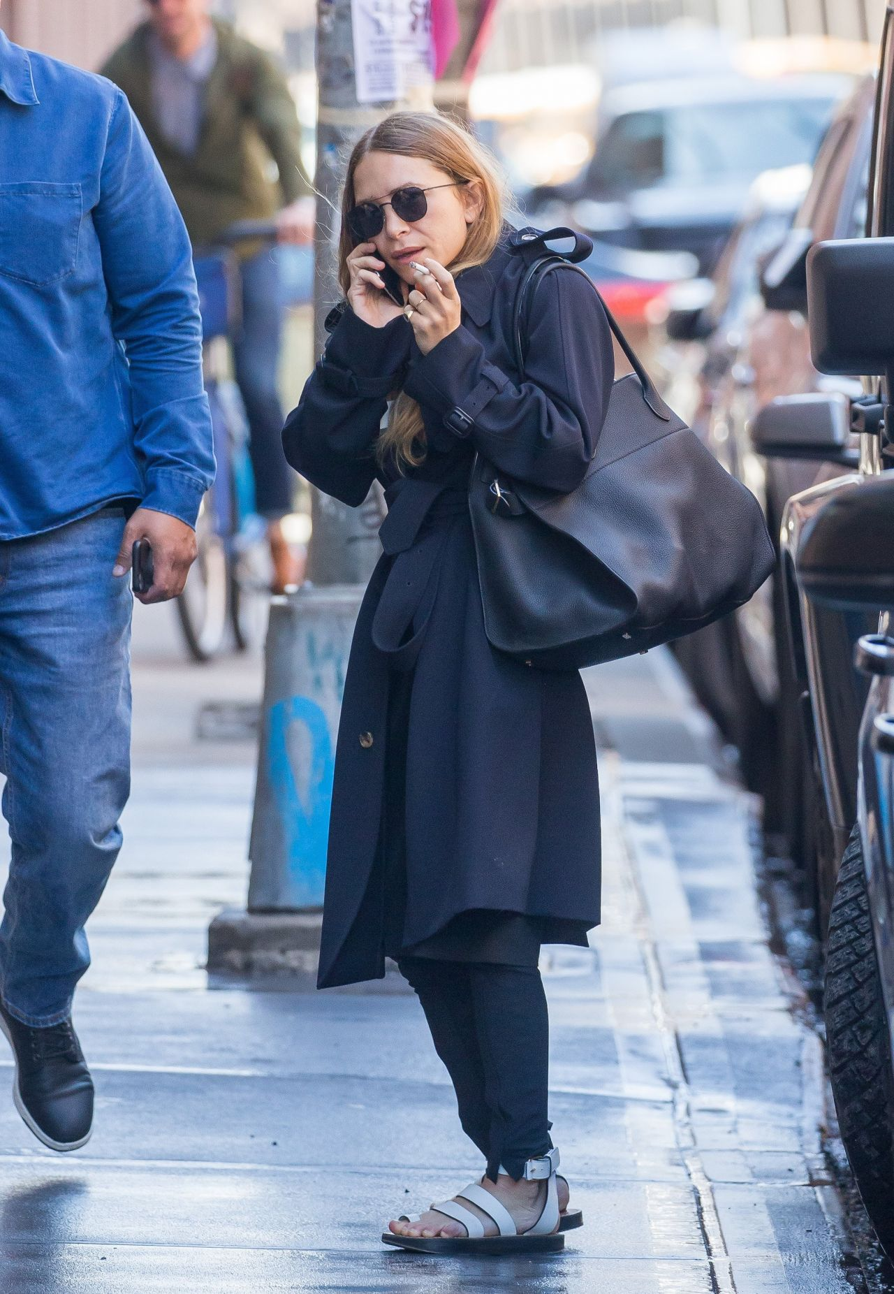 marykate olsen arrives to her office in new york 04262018