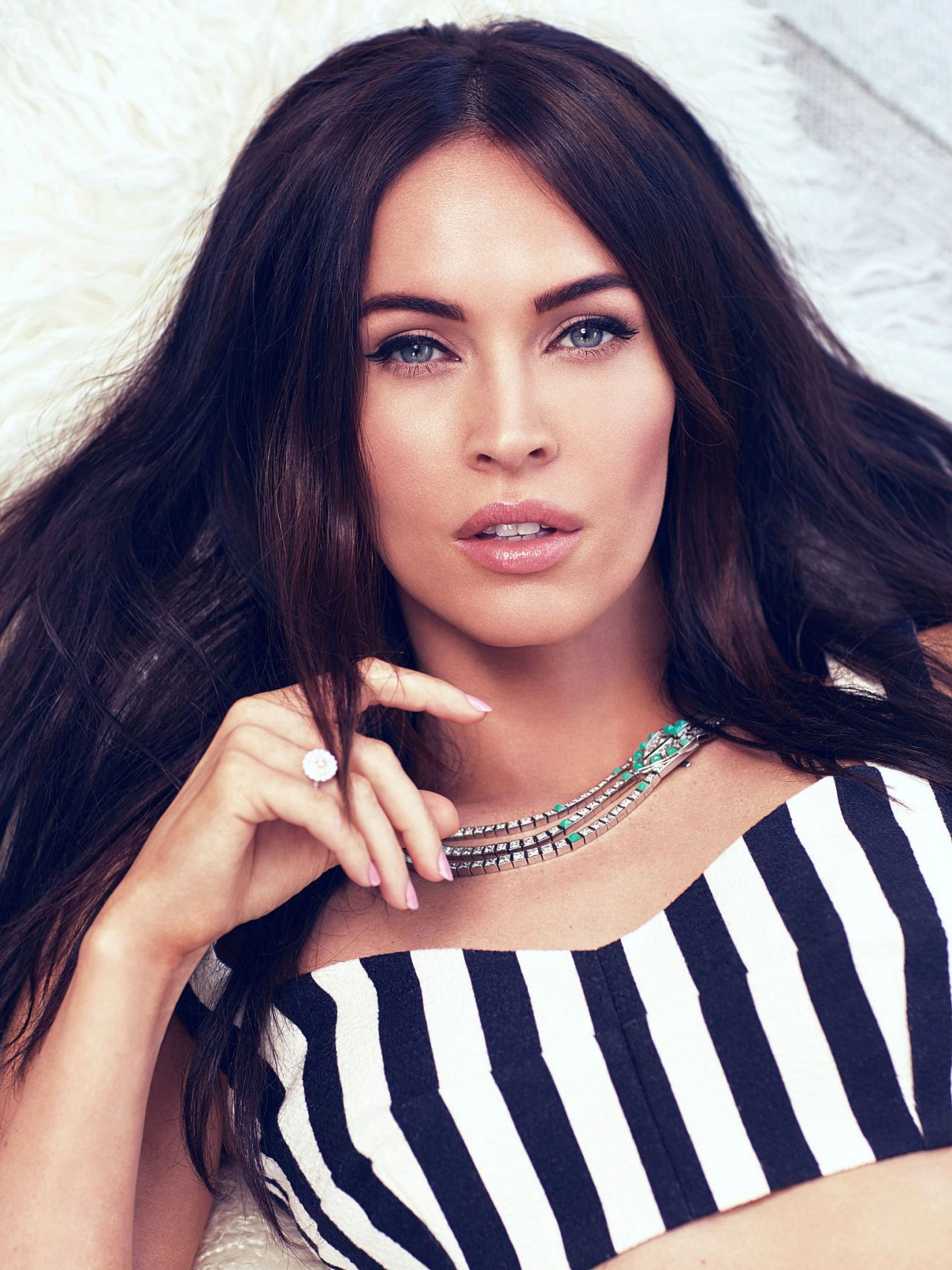 Megan Fox - Harper's Bazaar Arabia April 2015