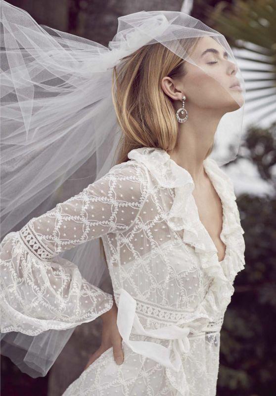 Megan Williams - Vogue Spain March 2018 Issue