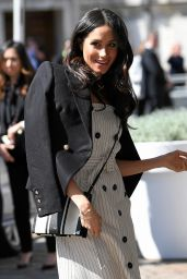 Meghan Markle - Reception with Prince Harry & Delegates of Commonwealth Youth Forum in London