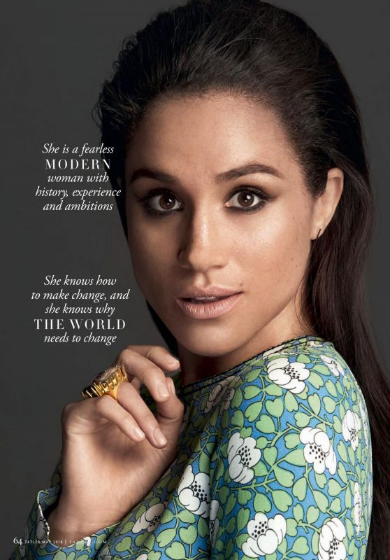 Meghan Markle - Tatler Magazine UK, May 2018 Issue