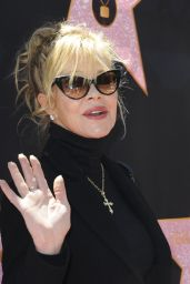 Melanie Griffith – Eva Longoria Hollywood Walk of Fame in LA