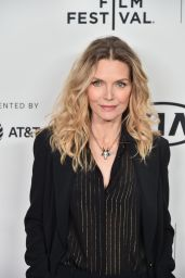 Michelle Pfeiffer - Scarface 35th Reunion Red Carpet at Tribeca Film Festival in NY