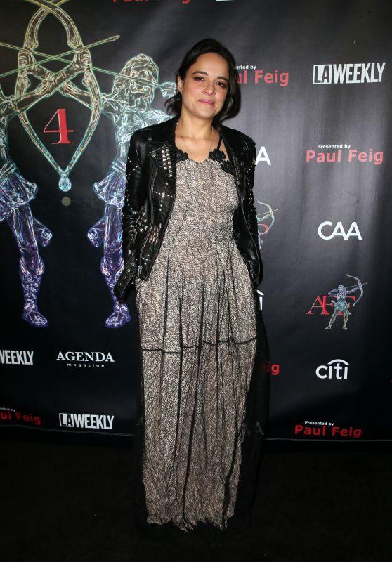 Michelle Rodriguez – 2018 Artemis Women in Action Festival in Beverly Hills